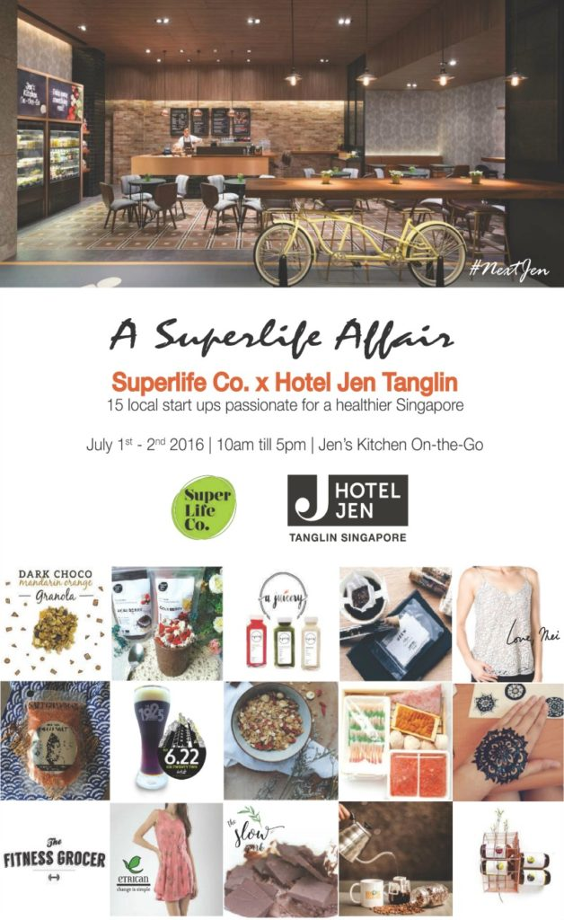 Superlife Co x Hotel Jen Tanglin