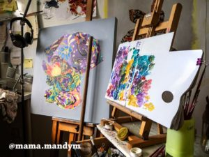 MaMa's artwork