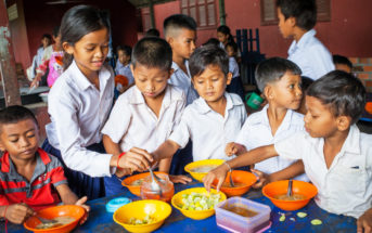 Caring for Cambodia's Food for Thought program