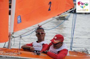 Jovin Tan Disabled Sailing Coach Singapore