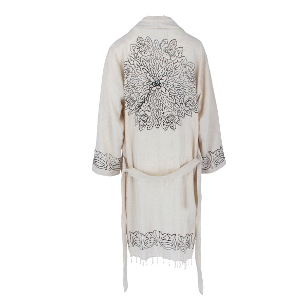 Just Divine Deluxe Bathrobe Back