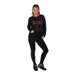 Dreesy Lace Top with Leggings