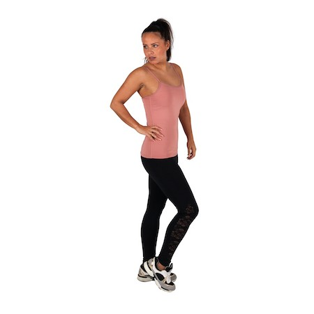Dreesy Rose Tank Top with Leggings