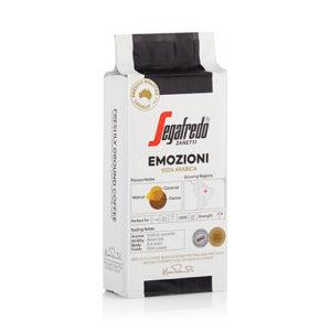 Segafredo Zanetti Emozioni 100% Arabica Ground Coffee 250g