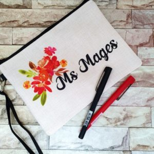 All Things Floral Make-Up Bag