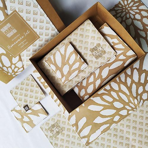 The Batilk Boutique Homeware Set Tan Bunga