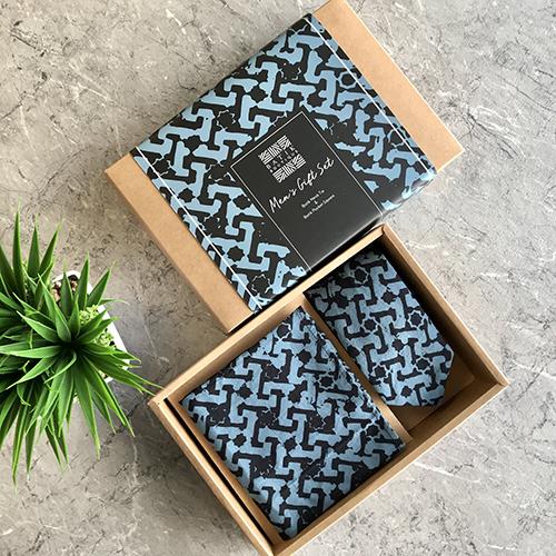 The Batik Boutique Men's Gift Set Midnight Arabesque
