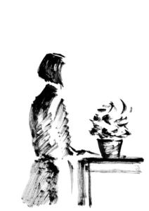 Waiting Limited Edition Art Prints - Ingela Johansson